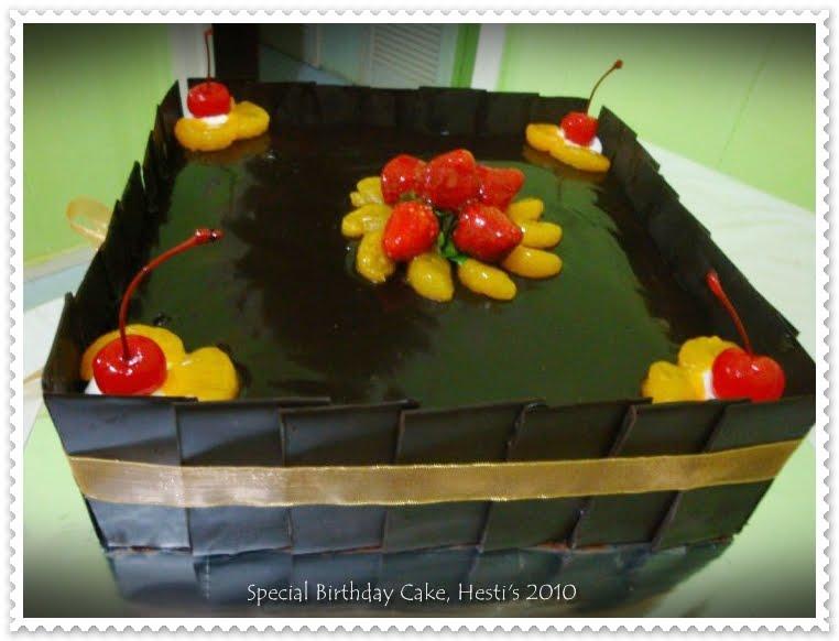 Resep Cake Kukus Hesti Kitchen: HESTI'S KITCHEN : Yummy For Your Tummy: Special Birthday Cake