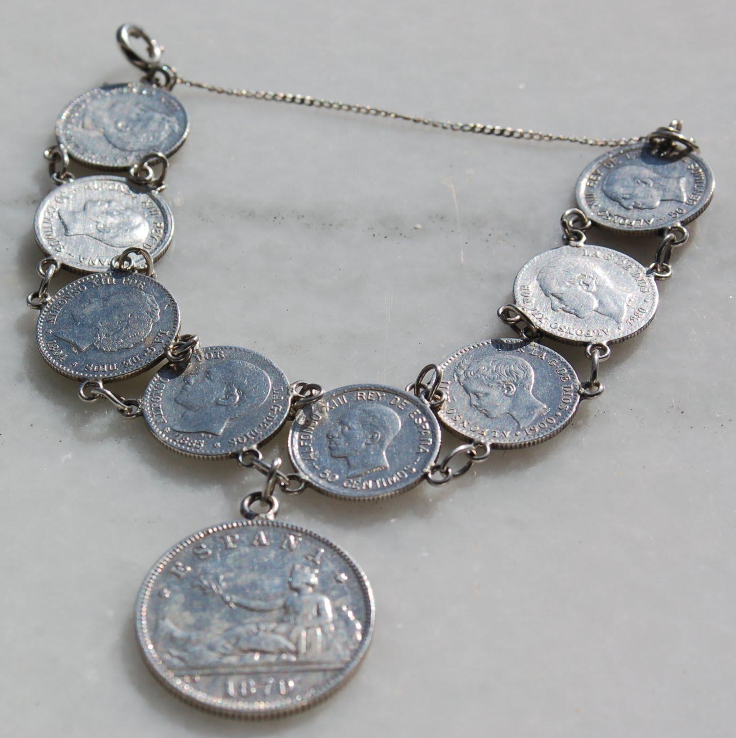 El Blog De Ma Monedas De Plata Antigua Engarzadas En