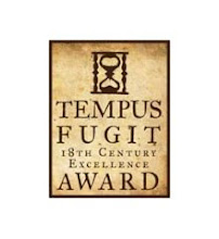 Tempus Fugit 18th Century Excellence Award