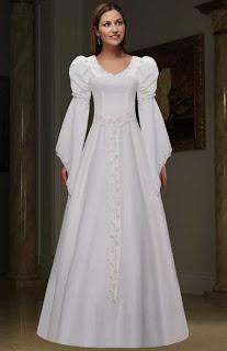 Vestidos de novia epoca medieval