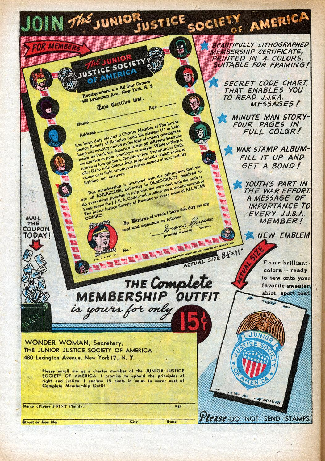 Read online Sensation (Mystery) Comics comic -  Issue #33 - 40