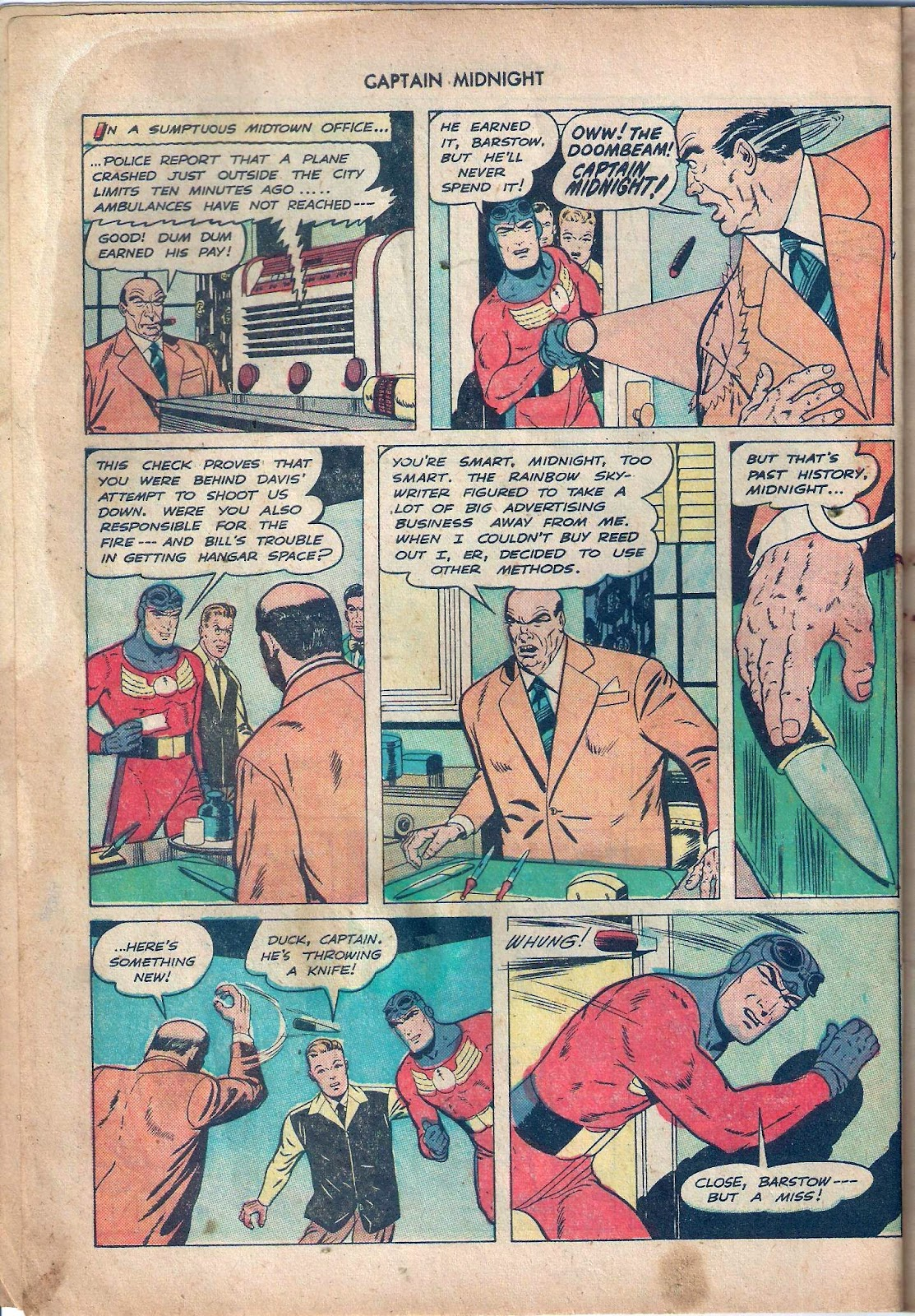 Captain Midnight (1942) issue 59 - Page 9