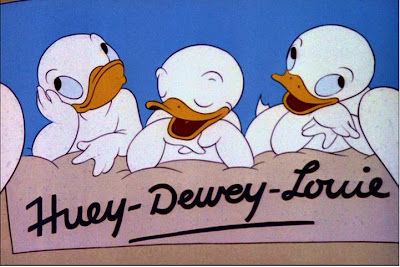 Personajes de Walt Disney: Huey Dewey and Louie