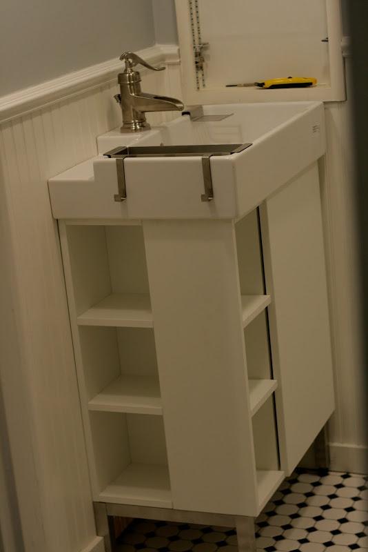 Farmhouse Sink Bathroom