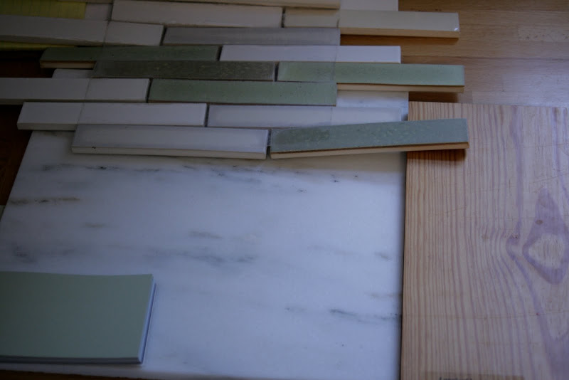 Green Marble Kitchen Floor