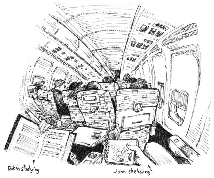jtChatter: Back to London