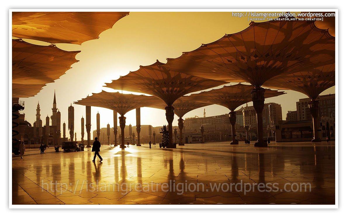 Masjid Nabawi Golden View  Kumpulan Gambar