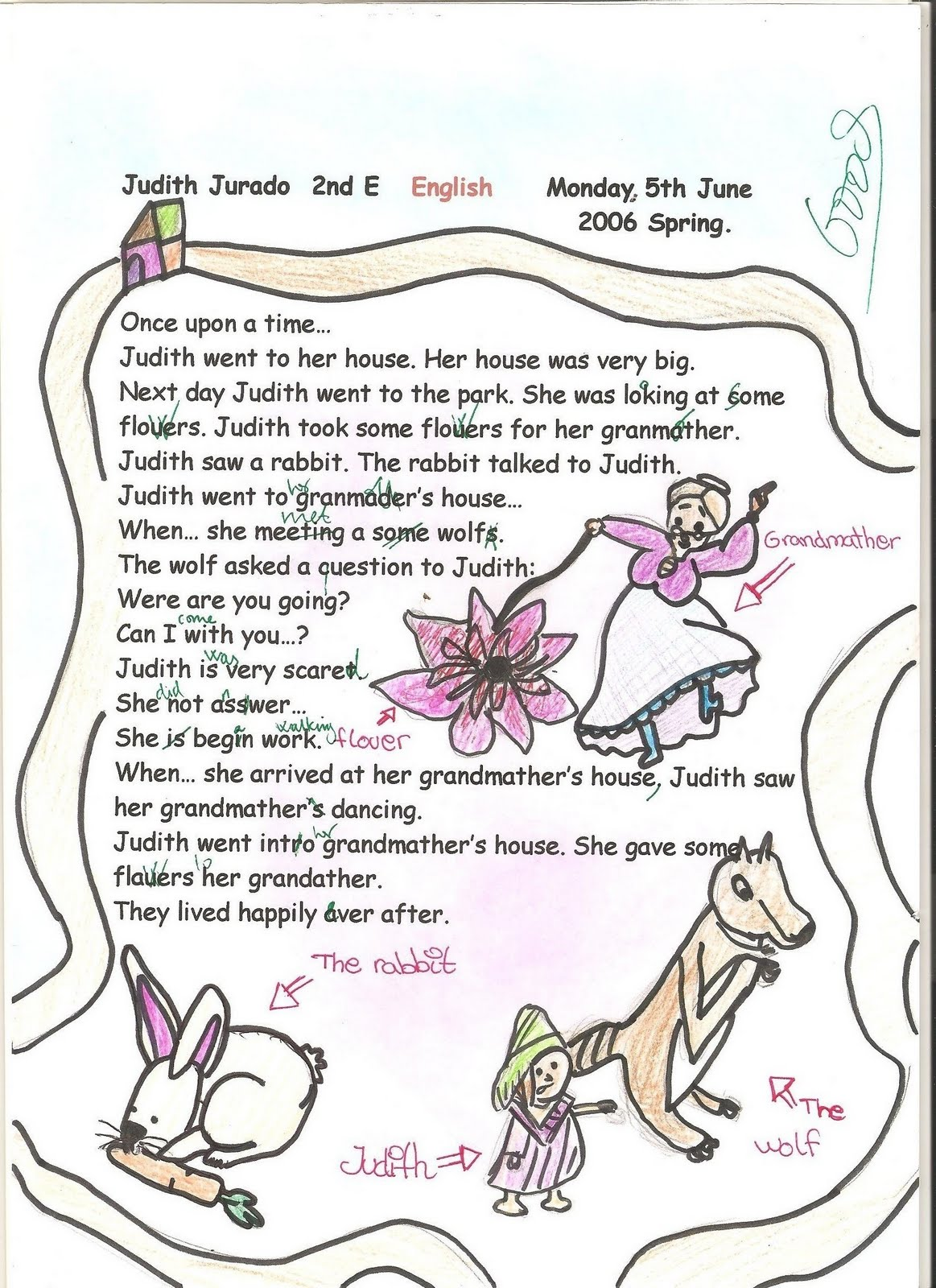 English Stories For Class 2 With Pictures