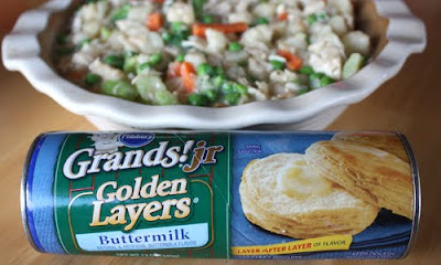 Gourmet Mom On The Go Skinny Chicken Pot Pie