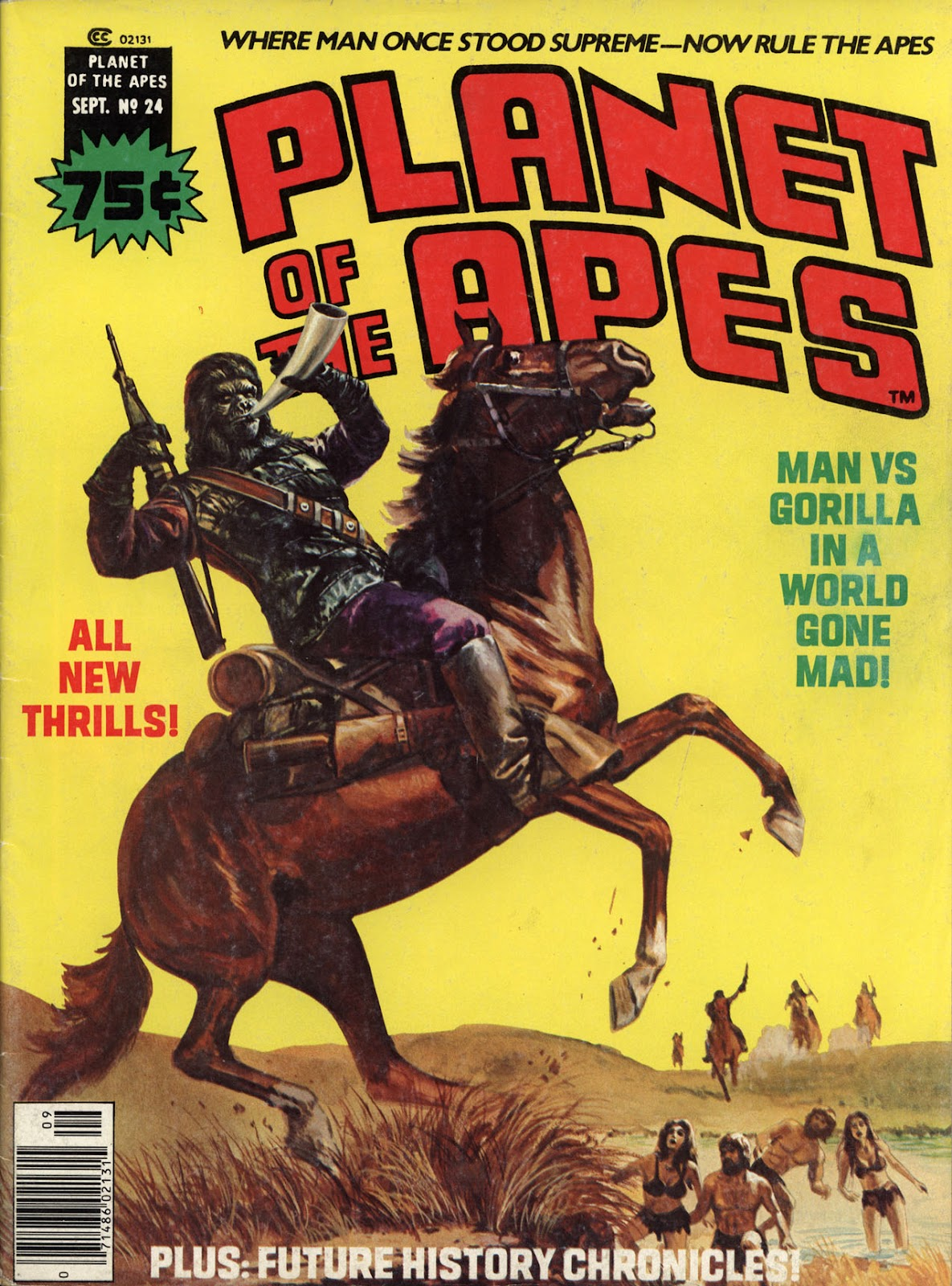Planet of the Apes (1974) 24 Page 1