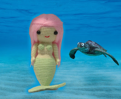 Mermaid Amigurumi Crochet Pattern