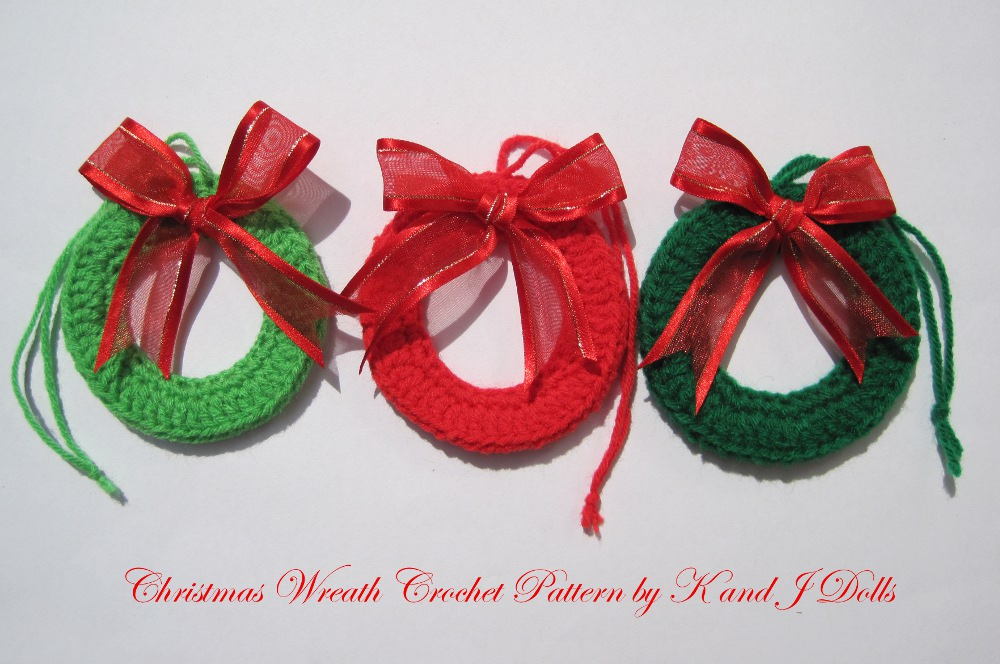New Pattern Crochet Christmas Ornaments Zoom Yummy