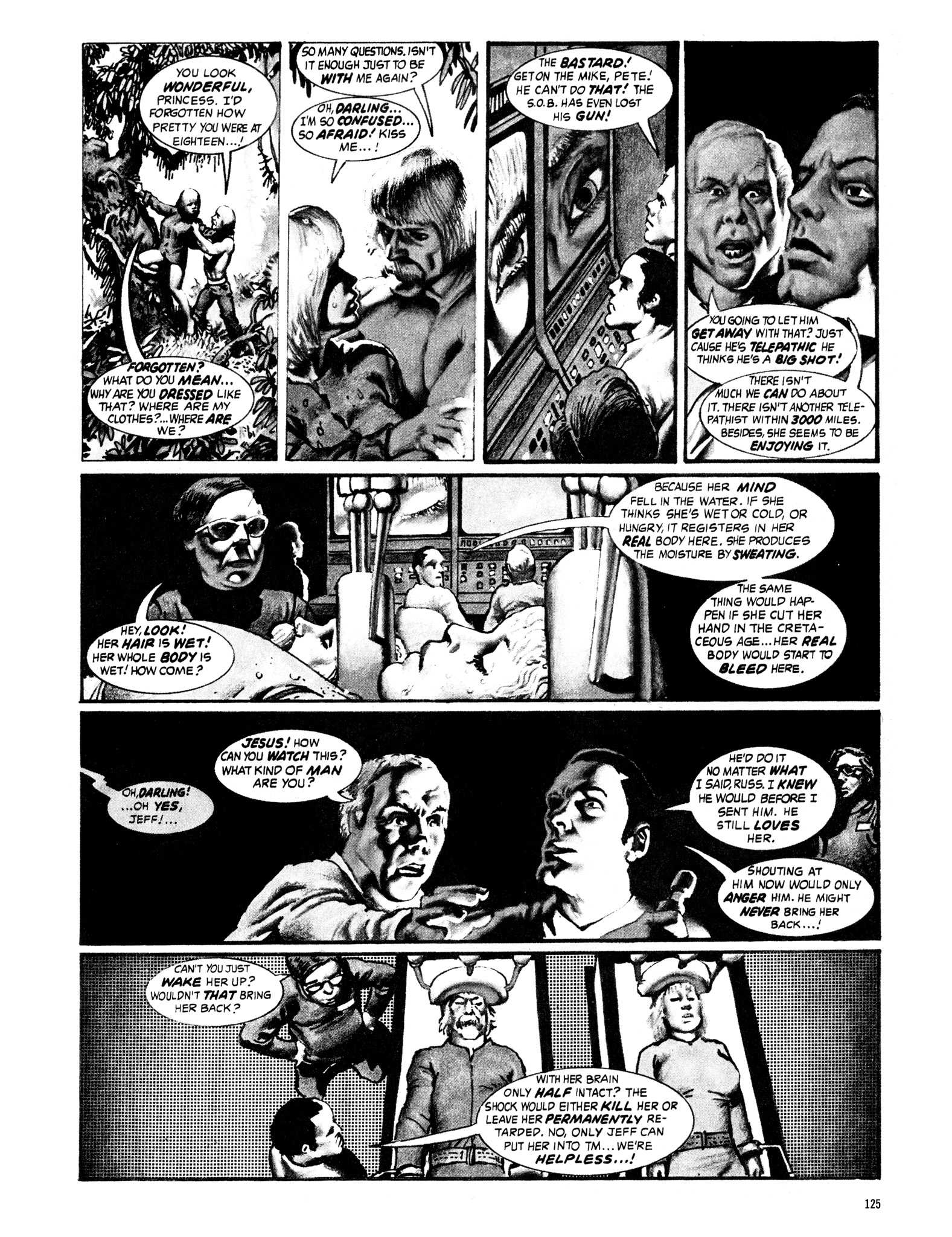 Read online Eerie Archives comic -  Issue # TPB 16 - 126