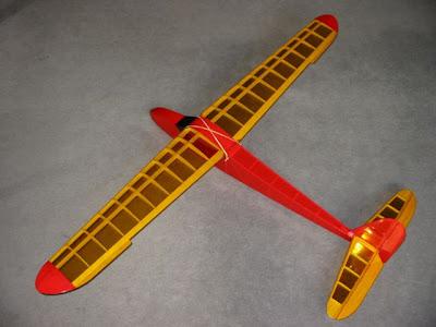 Chuck Glider's Model Aircraft Jotter: Model Glider Plans