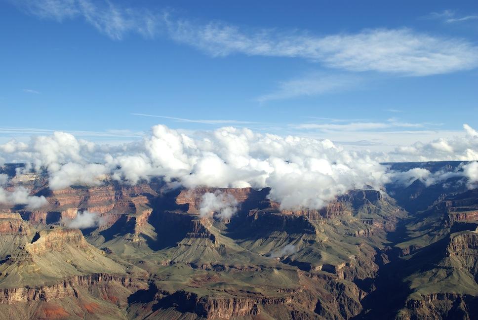 grand canyon sää marraskuu