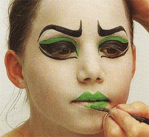 Avec Pitchoun: Maquillage pour Halloween : Méchante sorcière brrrrr