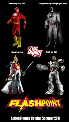 Flashpoint action figures from DC Direct