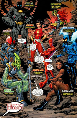 Future Justice League from Justice League: Generation Lost #14