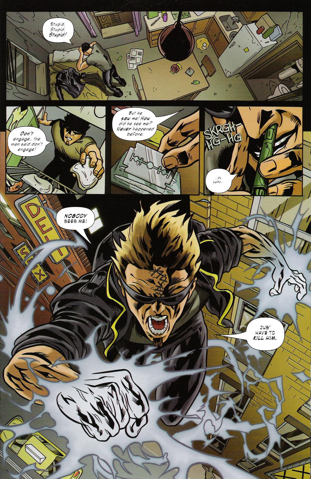 Read online ShadowHawk (2005) comic -  Issue #2 - 19