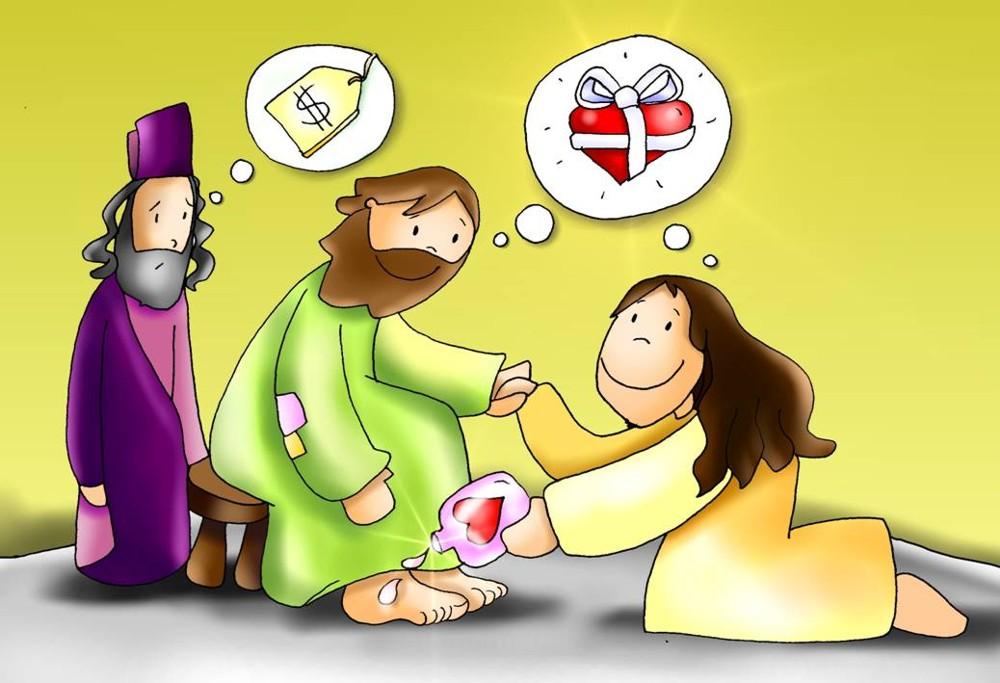 Culto infantil jes s perdona a una mujer pecadora - Casa de los espiritus alegres ...