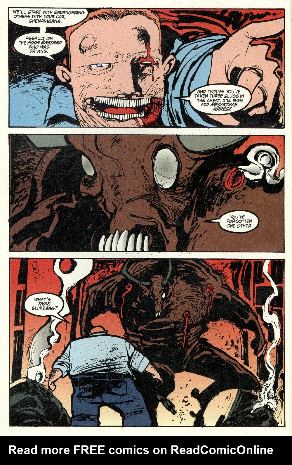 Read online Ted McKeever's Metropol comic -  Issue #11 - 4