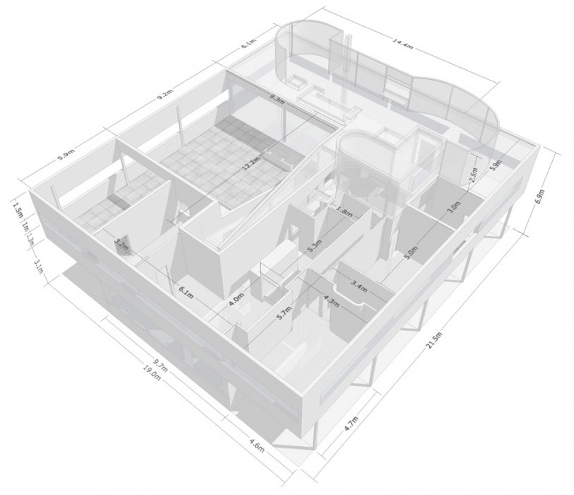 Christopher Taji Series Of Floor Plans