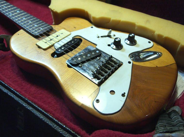 Evan Lorden My Custom Homemade Guitars