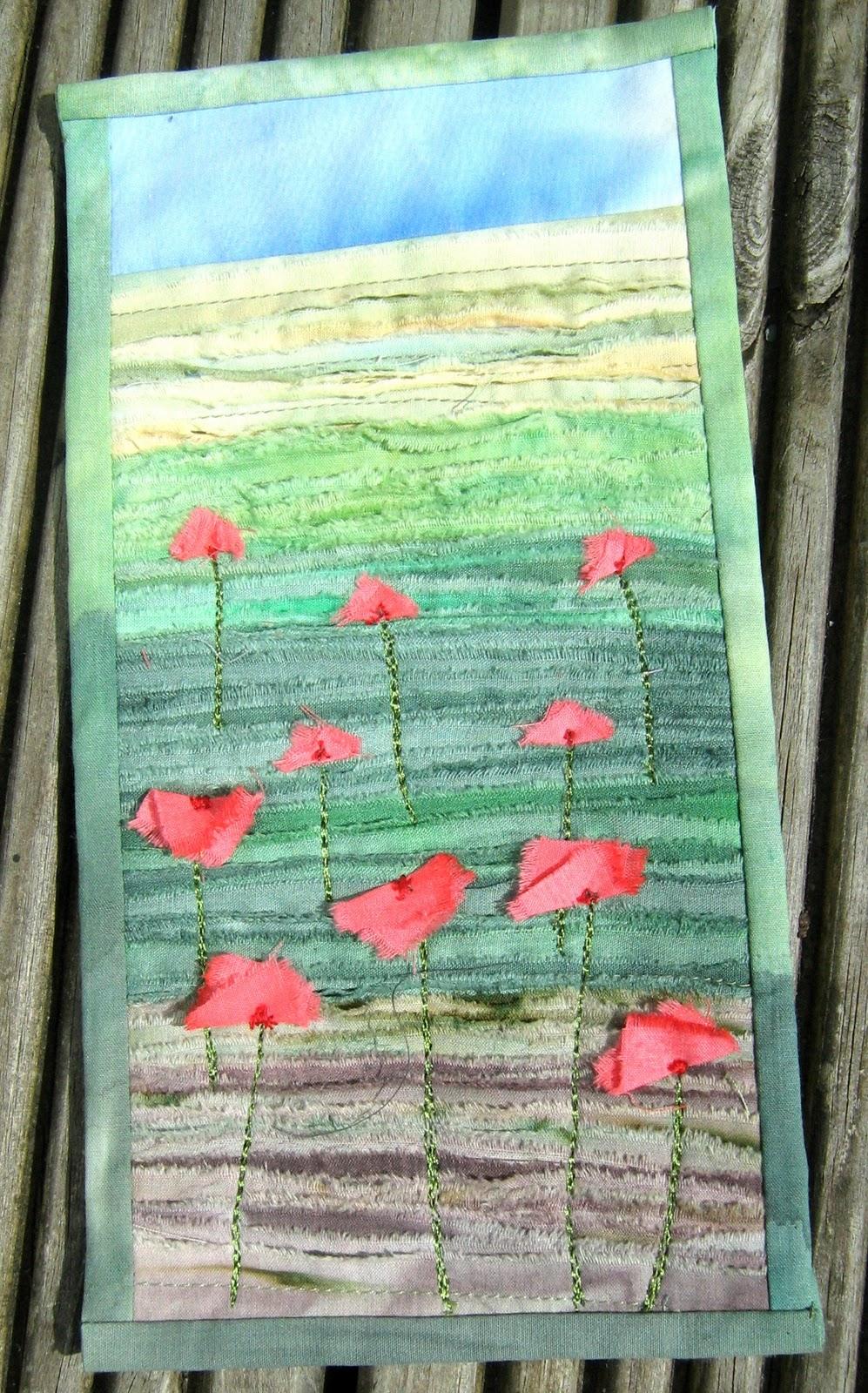Quilt Routes Alternative Poppies Tutorial