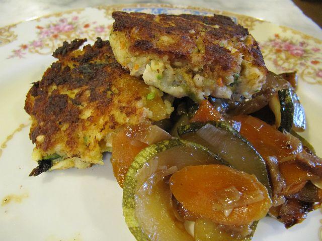 Kitchenroach Lachspflanzerl Mit Ingwer Gurken Gemuese