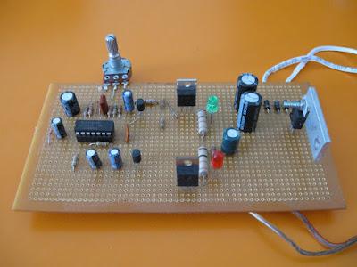 Ultrasonik fare kuş kovucu devresi