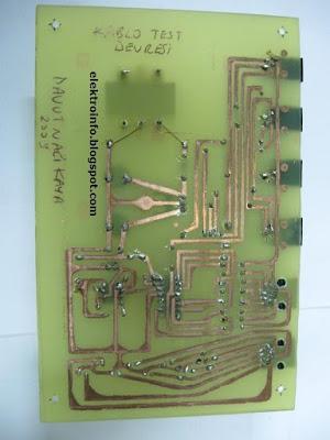patch network ahize köken kablo test cihazı / devresi