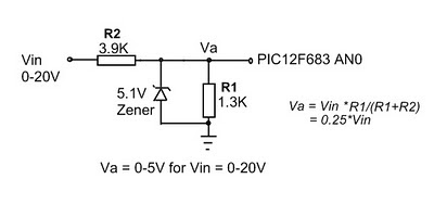 0-5 volt 0-20 volt ölçüm devresi