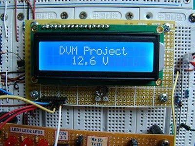 pic16f683 voltmetre dvm