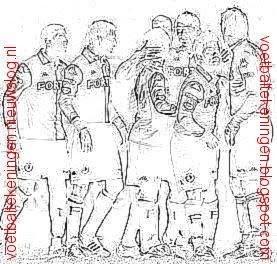 Kleurplaat Feyenoord Sparta Rotterdam