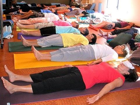 do restorative yoga corpse pose  savasana