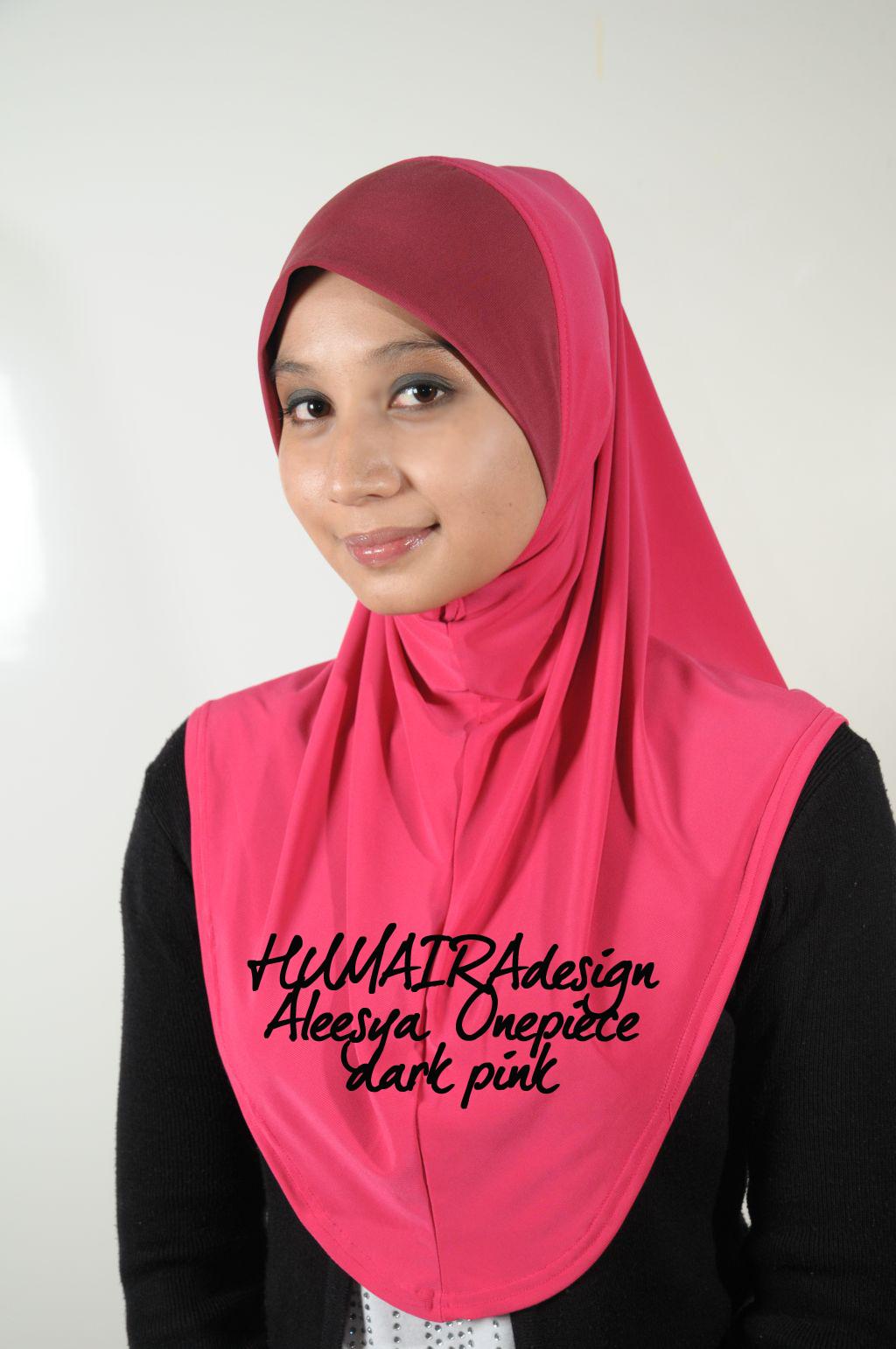 Busana Humaira Aleesya Hijab