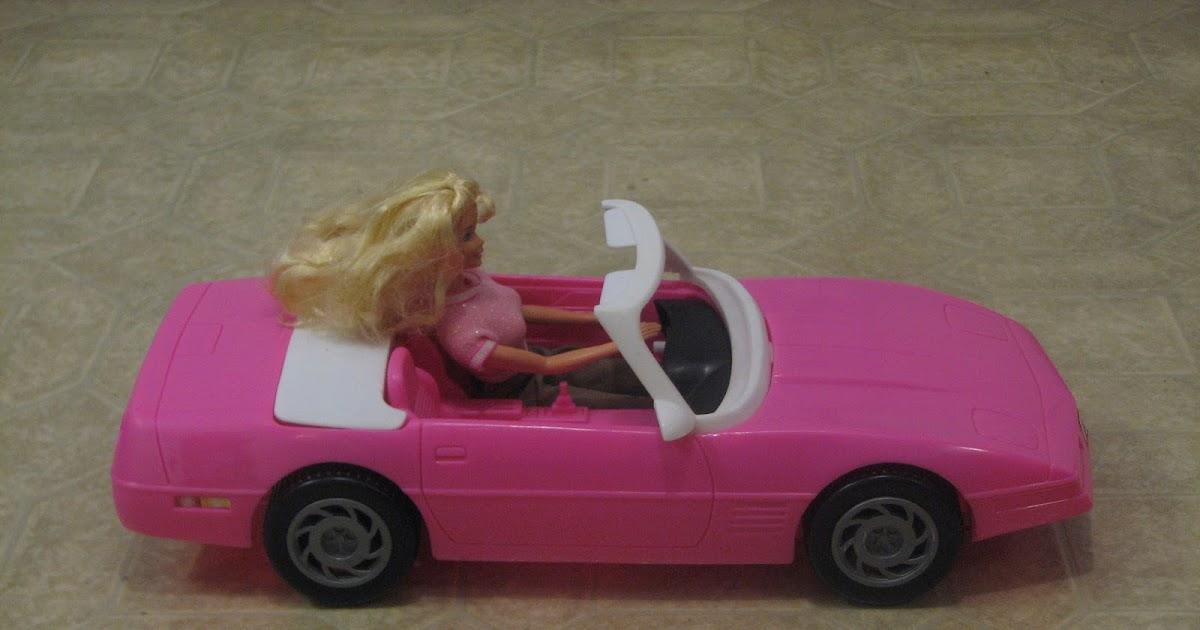 Remove Sticker From Windshield >> Carolina Treasures: 1995 Barbie Corvettev Convertible