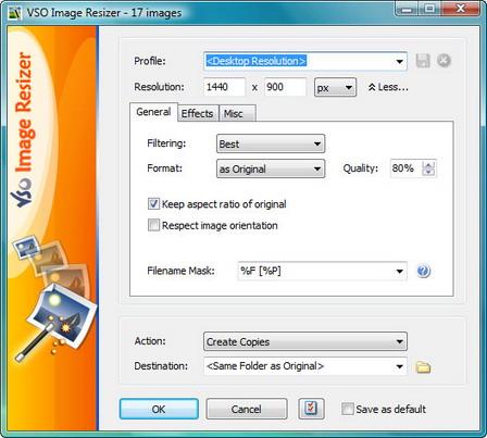 IMAGE RESIZER 4.0.0.54 TÉLÉCHARGER VSO