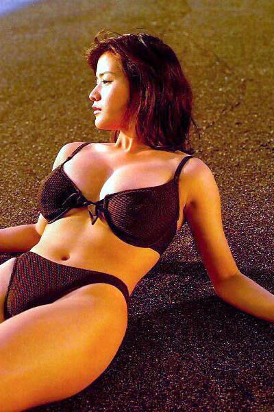 Wallpaper Girl Happy Aoki Yuko Japan Girls Bikini Girls Sexy Girls