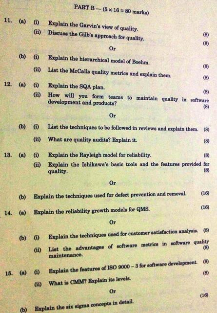 anna university chennai web technology question papers