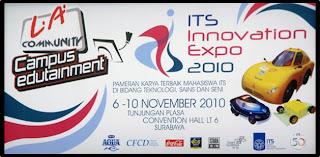 SMA Ta`miriyah dalam acara ITS Innovation Expo 2010