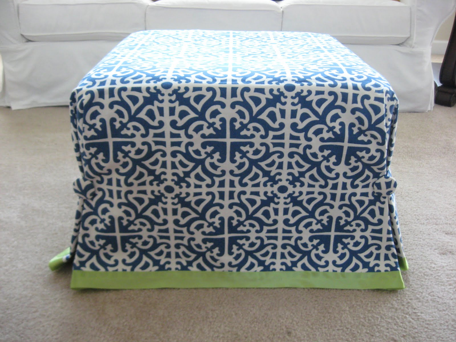 Slipcovers For Ottomans Home Design