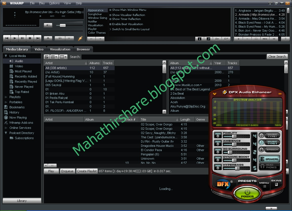 Download the latest version of dfx for winamp free in english on.