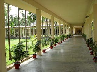 corridor from BARD administrative building