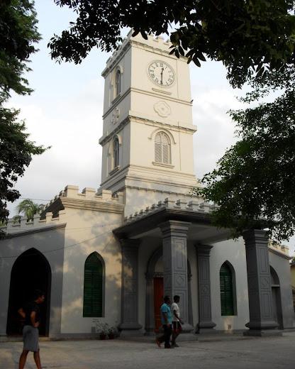 thomas church, merry's cathedral, white church, dhaka, lakkhibazar