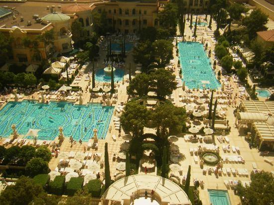 Bellagio Las Vegas Blogspot Com Bellagio Pool At Bellagio Las Vegas Nevada