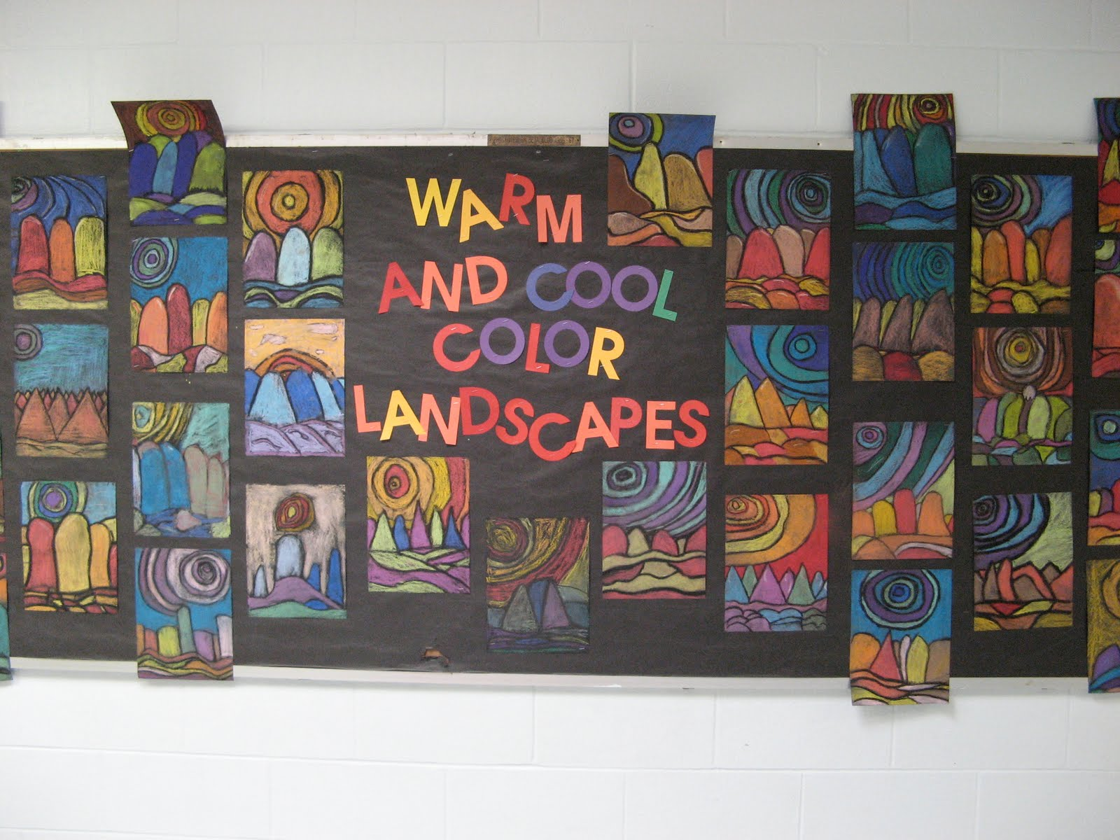 Mrs Clause S Creative Classroom 5th Grade Landscapes