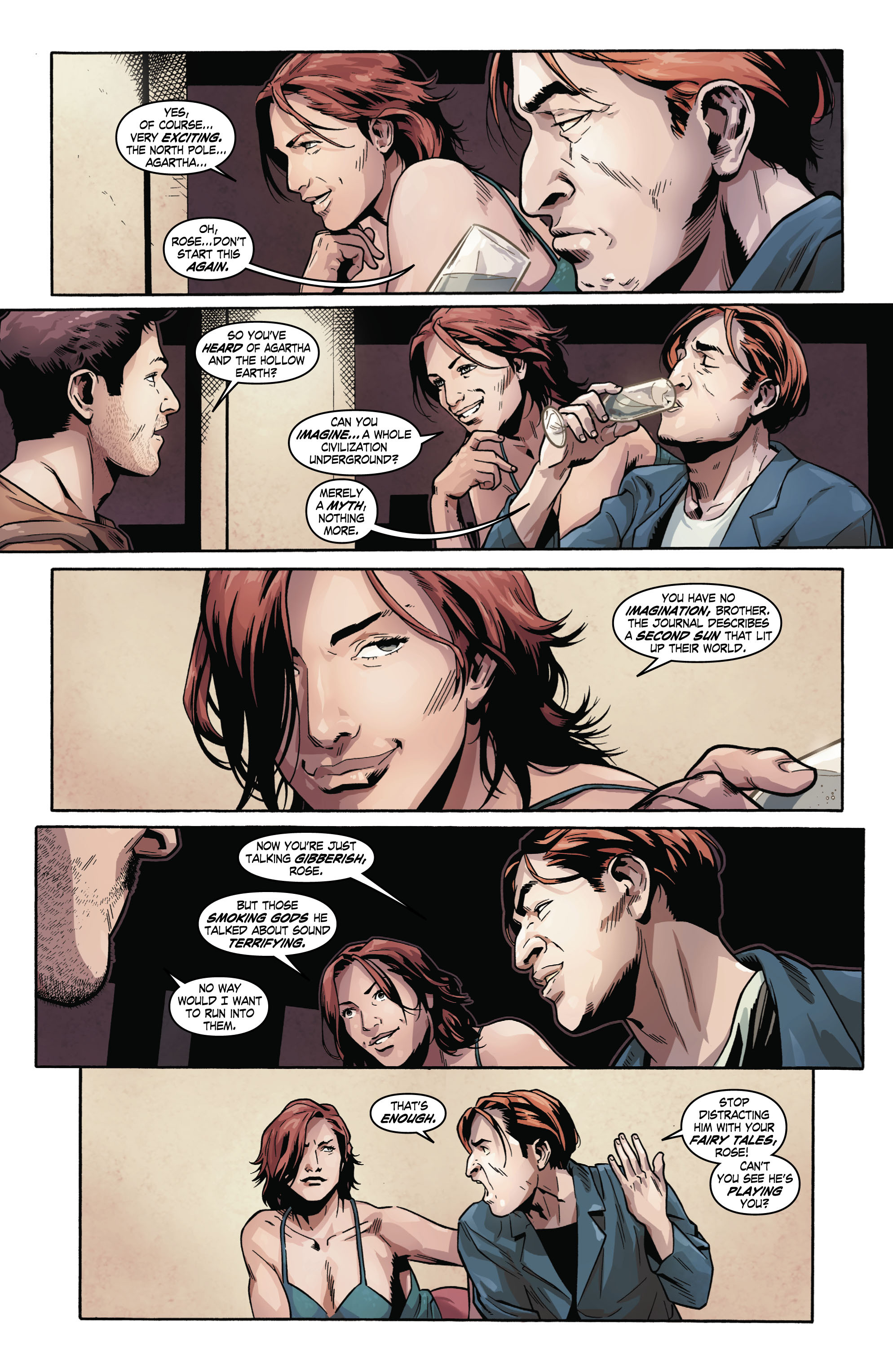 Read online Uncharted comic -  Issue #2 - 17