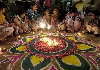 Image result for hindu muslim diwali