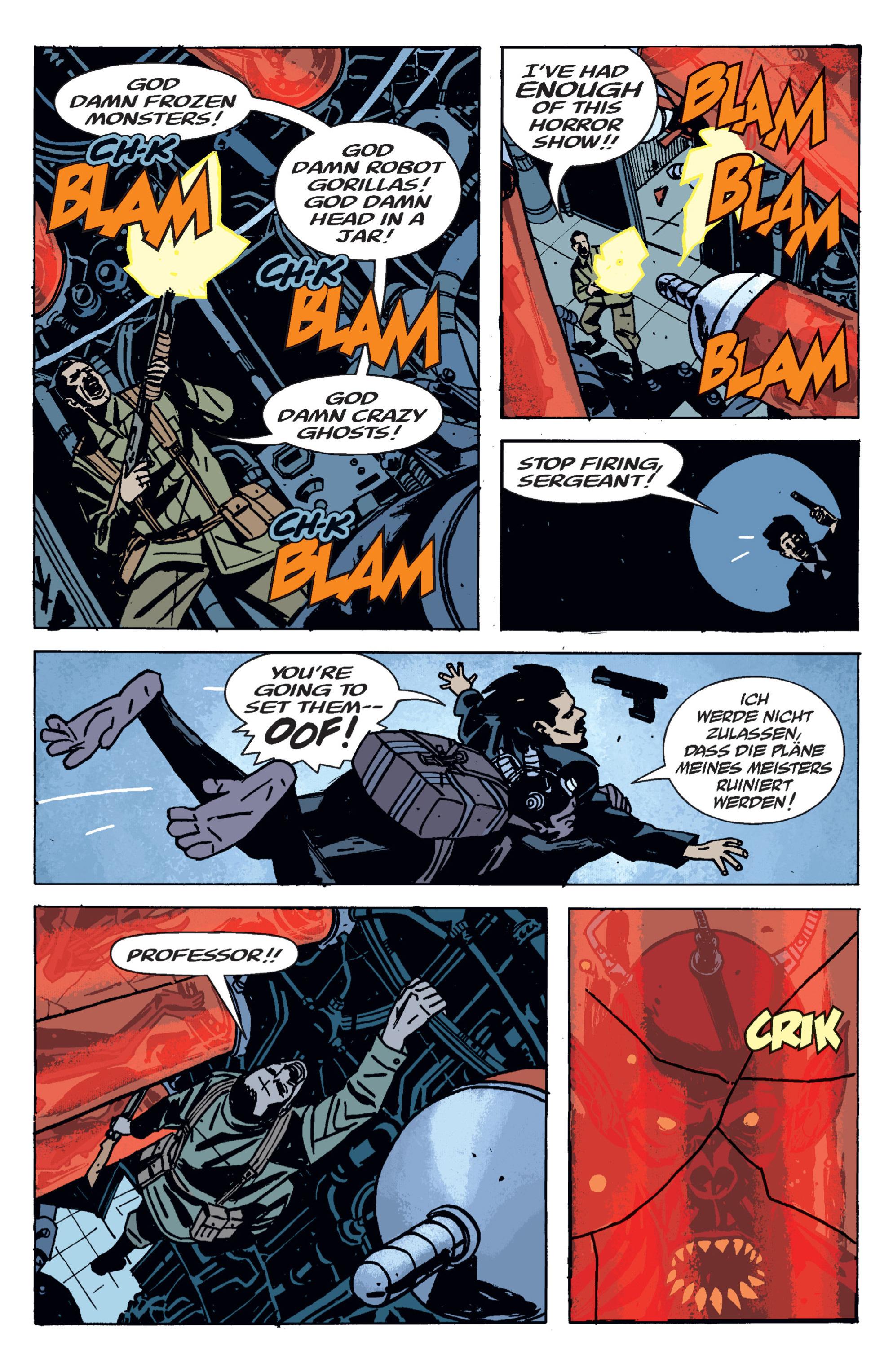 Read online B.P.R.D. (2003) comic -  Issue # TPB 9 - 124